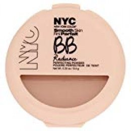 NYC Smooth Skin Perfecting Polvo BB Resplandor - Warm Beige