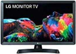 """LG 28TL510S-PZ - Monitor Smart TV de 70cm (28"""") con Pantalla LED HD (1366x768, 16:9, DVB-T2/C/S2, WiFi, Miracast, USB Grabador, 10 W, 2xHDMI 1.4, 1xUSB 2.0, Óptica) Color Negro"""