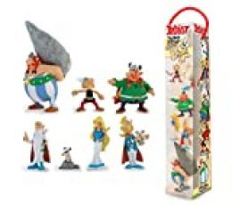Plastoy -Asterix-Village Tube 7 Figurines