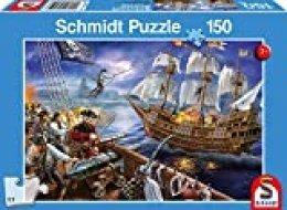 Schmidt Spiele Puzzle 56252Aventura con los Piratas, niño Rompecabezas, de 150Piezas