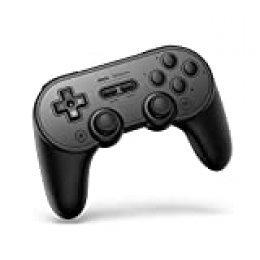 8Bitdo Sn30 Pro+ Wireless Bluetooth Gamepad For Nintendo Switchwindowsmacosandroidraspberry Pi (Black Edition) [ [Importación alemana]