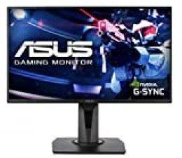 "ASUS VG258QR - Monitor de Gaming de 25"" (WQHD 2560x1440, 144 Hz, Extreme Low Motion Blur Sync, Adaptive-sync, FreeSync, 1 ms MPRT, HDR10) color Negro"