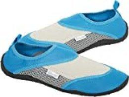 Cressi Coral Shoes Zapatilla para Deportes Acuáticos, Adultos Unisex, Aguamarina/Gris, 40