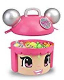 Pinypon Mix & Match Neon Party - Contenedor con 5 figuras exclusivas para niños y niñas de 4 a 8 años (Famosa 700015210)