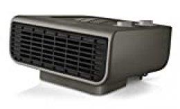 Taurus Tropicano Java 2100 IP Termoventilador, calefactor, 2 posiciones de calor, 2000 W, Función ventilador, termostato regulable, piloto luminoso, silencioso, color gris