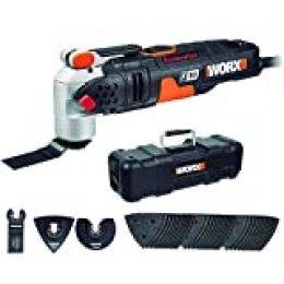 Worx WX681 Multiherramienta, 450 W, 230 V, negro