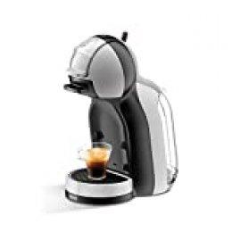 Krups Mini Me KP123B - Cafetera (Independiente, Máquina espresso, 0,8 L, Cápsula de café, 1500 W, Negro, Plata)
