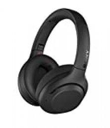 Sony WH-XB900N - Auriculares Inalámbricos Noise Cancelling (Bluetooth, Extra Bass, 30h de batería, Carga Rápida, Óptimo para trabajar, Micro para llamadas manos libres), Negro
