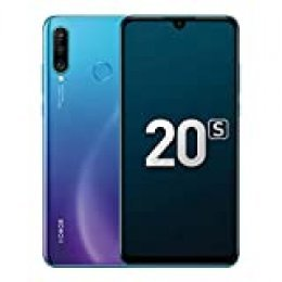 """Honor 20S Smartphones, Teléfono 6GB RAM + 128GB ROM, 6.15"""" Pantalla Completa, 48MP + 8MP + 2MP cámaras triples con Súper Gran Angular, Iluminación de Retratos en 3D, Kirin 710 CPU (Azul Pavo Real)"""