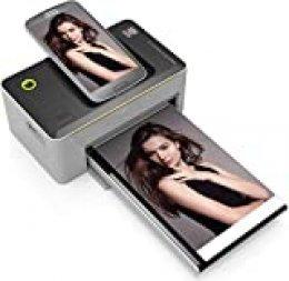 Kodak Dock Station Impresora fotográfica de 9 x 14 cm con tecnología avanzada de inyección de tinta por sublimación y capa de conservación de fotos, compatible con Android y iOS - No Wifi