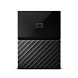 WD My Passport - Disco Duro portátil de 4 TB y Software de Copia de Seguridad automática, Negro (Reacondicionado)