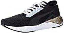 PUMA Cell Plasmic WN'S, Zapatillas Deportivas para Interior para Mujer, Negro Black White, 38 EU