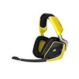 Corsair Void Pro Wireless RGB SE, Auriculares Gaming (PC, Inalámbricos, Dolby 7.1), Inalámbrico, Amarillo