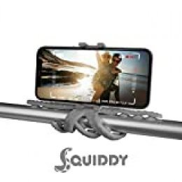 Celly Squiddy tripode Smartphone/Action Camera 6 Pata(s) Rojo - Trípode (Smartphone/Action Camera, 6 Pata(s), 20 cm, Gris, Silicona, 200 mm)