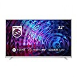 Philips 32PFS5823, Televisor con Tecnología LED, Full HD, Pixel Plus HD, Dolby Audio, Smart TV y HDMI, USB, 32""