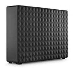 Seagate STEB10000400 Expansion Desktop, 10 TB, Unidad de disco duro externa, HDD, USB 3.0 para PC, ordenador portátil y Mac