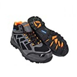 Goodyear Workwear GYBT1528 - Botas de senderismo para hombre, ligeras, deportivas, de corte medio, no metálicas, con puntera compuesta y suela intermedia, impermeables, S3 SRC