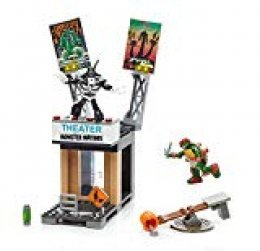 Mattel Mega Bloks dpf64 - Teenage Mutant Ninja Turtles Modelos Ataque Action