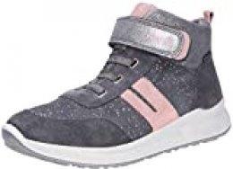 Superfit Merida, Zapatillas para Niñas, Gris/Rosa 2000, 39 EU