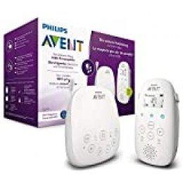 Philips Avent SCD713/00 - Vigilabebes con privacidad y seguridad DECT, luz nocturna