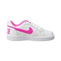 Nike Court Borough Low (GS), Zapatillas de Baloncesto para Mujer
