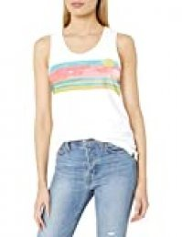 Hurley W Scenic Stripes PRF Scoop TNK Camiseta De Tirantes, Mujer, White, M