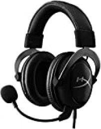HyperX KHX-HSCP-GM Cloud II - Cascos de Gaming para PC/PS4/Mac, color gris