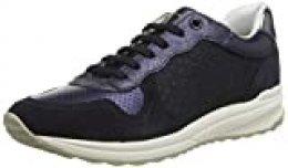 Geox D AIRELL A, Zapatillas para Mujer, Azul (Navy C4002), 39 EU