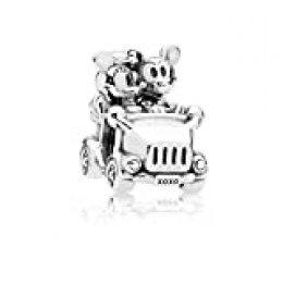 Pandora Minnie Mouse & Mickey Mouse Car Charm Plata de ley 797174
