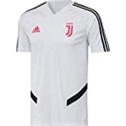adidas Juve TR JSY Hombre, Blanco/Negro, XL