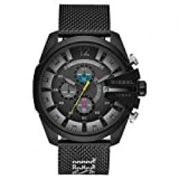 Diesel Reloj Cronógrafo para Hombre de Cuarzo con Correa en Acero Inoxidable DZ4514