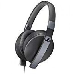 Sennheiser HD 4.20s - Microauriculares de Diadema Cerrados, Compatible con Smartphones y Tablets, Color Negro, Around-Ear