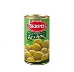 Serpis - Aceituna rellena de anchoa, 350 g