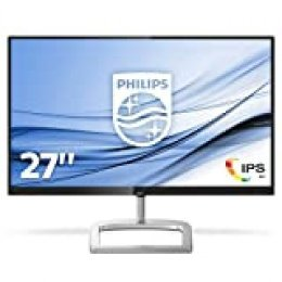 "Philips Monitores 276E9QJAB/00 - Pantalla para PC de 27"" FHD (resolución 1920 x 1080 píxeles, Flicker Free, modo LowBlue, altavoces incorporados, FreeSync, HDMI, Displayport)"