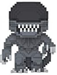 Funko Pop!- 24597 Horror: 8-bit Alien, Multicolor