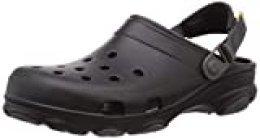 Crocs Classic All Terrain Clog, Obstrucción Unisex Adulto, Negro, 36/37 EU