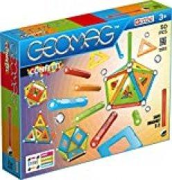 Geomag- Confetti Construcciones magnéticas y juegos educativos, Multicolor, 50 piezas (352) , color/modelo surtido