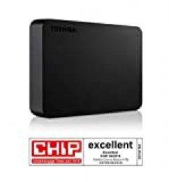 Toshiba Canvio Basics - Disco duro externo, 2.5 pulgadas (6.4 cm), Negro, 4 TB