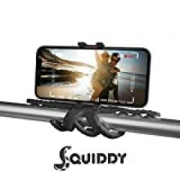 Celly Squiddy tripode Smartphone/Action Camera 6 Pata(s) Rojo - Trípode (Smartphone/Action Camera, 6 Pata(s), 20 cm, Negro, Silicona, 200 mm)