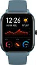 "Amazfit GTS Reloj Inteligente Azul AMOLED 4,19 cm (1.65"") Móvil GPS (satélite) Amazfit GTS, 4,19 cm (1.65""), AMOLED, Pantalla táctil, GPS (satélite), Móvil, 38,7 g"