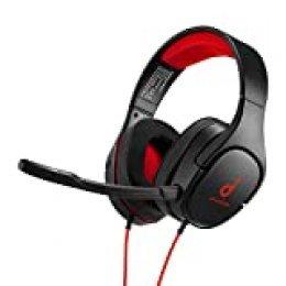 Anker Soundcore Strike 1 Gaming Auriculares, auriculares de diadema para PS4, Xbox, PC, sonido estéreo, mejorado sonido para FPS, micrófono con aislamiento del ruido, almohadillas con gel refrigerante