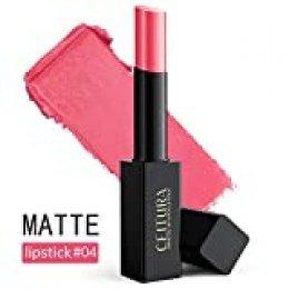 Barra De Labios Mate Permanente De Pintalabios Impermeable Natural Brillo De Labios 004 Rosa rosa claro