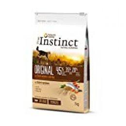 True Instinct Original Comida Para Gato Esterilizado Adulto con Salmón - 7 kg