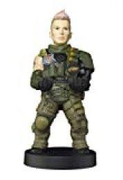 Cable guy Battery, soporte de sujeción y carga para mando de consola y smartphone de con personaje favorito con licencia de Call of duty. Producto con licencia oficial. Exquisite Gaming