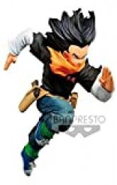 Ban presto Dragon Ball Z Estatua BWFC Androide 17, Multicolor (BANP82978)