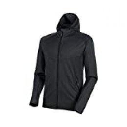 Mammut Nair Hooded - Chaqueta con capucha para hombre, talla XXL, color negro