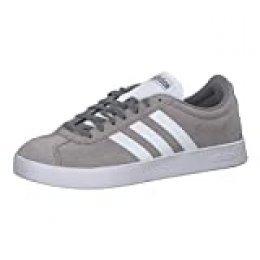adidas VL Court 2.0, Zapatillas de skateboarding para Niños, Gris (Gritre/Ftwbla 000), 37.5 EU