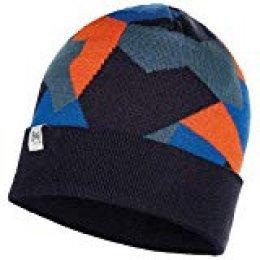 Buff Knitted Hat Jr Ran Gorro, Unisex Adulto, Azul Marino, Talla única