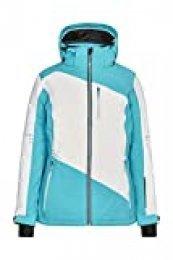 Killtec Adavia - Chaqueta de esquí para Mujer, otoño/Invierno, Mujer, Color Azul Turquesa, tamaño 44