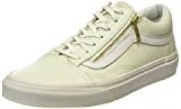 Vans Old Skool Zip, Zapatillas Unisex Adulto, Verde (mlx), 39 EU